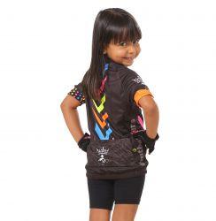 Camisa Ciclismo Infantil Listras