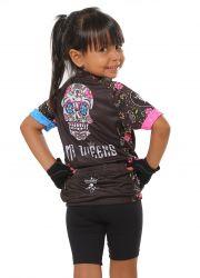 Camisa Ciclismo Infantil Skull