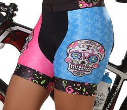 Bermuda Ciclismo Feminina Skull