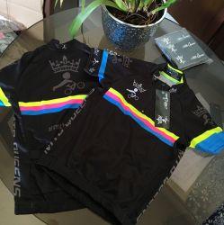 Camisa Ciclismo Infantil Black
