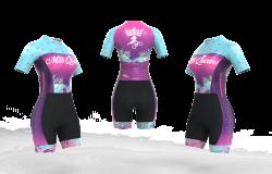 Macaquinho Ciclismo Flamingos