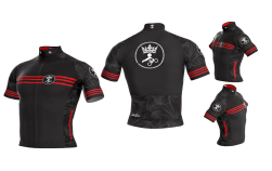 Camisa Ciclismo Tropical Red