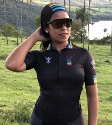 Camisa Ciclismo Unissex Colors Black