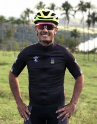 Camisa Ciclismo Masculina Colors Black