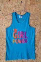 Regata Casual Girl Power Azul