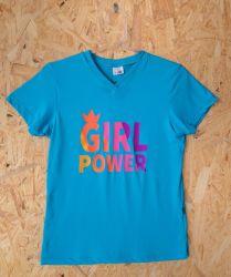 Babylook Casual Girl Power Azul