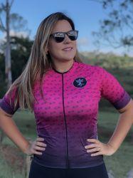 Camisa Ciclismo Premium Chain Rosa