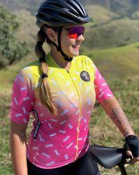 Camisa Ciclismo Premium Chain Amarelo