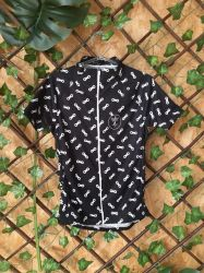 Camisa Ciclismo Infantil Chain P&B