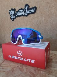 Óculos Absolute  Wild - Branco/Azul