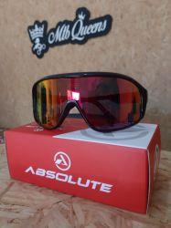 Óculos Absolute  Nero - Preto/Vermelho