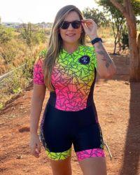 Macaquinho Ciclismo Vibes Adrenalina