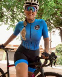 Macaquinho Ciclismo Aqua Blue
