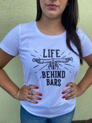 Camiseta Life Behind Bars Branco