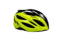 Capacete Ciclismo Jet Adventure Hornet - Preto e  Amarelo Neon